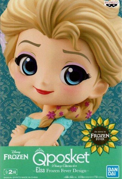 画像1: Q posket Disney Characters -Elsa Frozen Fever Design-【エルサ】 (1)